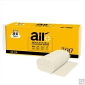 洁云本色 无芯卷纸 空气柔(AIR Plus) 4层加厚70克*10卷 竹浆卫生纸