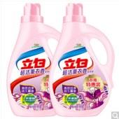 立白 超洁薰衣香洗衣液2.6kg*2 高效洁净持久薰香