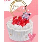 北图布可森林 莓莓香缇女王蛋糕 北图原创蛋糕